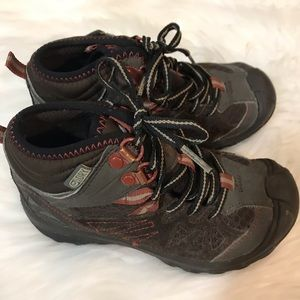 030d54e8b12 Merrell Shoes | Boys 65 Capra Mid Waterproof Hiking Boots | Poshmark